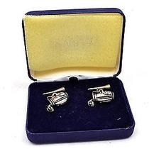 Lands End Golf Bag Cufflinks  Photo