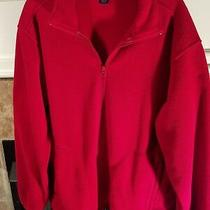 Lands End Jacket Size Xl 46-48 Red Photo