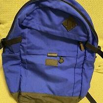 Lands End Kids Medium Cobalt Blue Backpack School Bag Photo