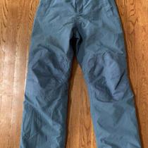 Lands' End Kids Squall Waterproof Iron Knee Winter Snow Pants Sz 12s Gray - Euc Photo
