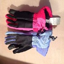 Lands' End Kids Winter Gloves  Size Med  Mismatched Pair Photo