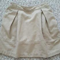 Lands' End Little Girls Beige Uniform Skort & Long Pants - Size Us 4 & 5  Photo