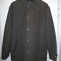 Lands' End Men's Barn Coat Jacket - Large Tall Lt Photo