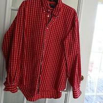 Lands' End Men's Dress/sport Shirt Button Down Collar Size Xl Pre-Owned Photo