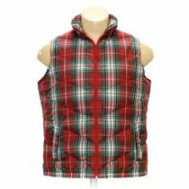 Lands' End Men's Vest Size Xl  Red Red  Polyester  Good Condition Photo