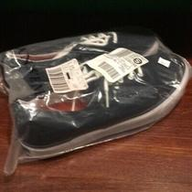 Lands End Navy Canvas Boys Sneaker New in Package Sz 6 Youth Classics Photo