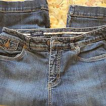 Lands' End Original Fit Modern Waist Capri Jeans -Size 8- W 30 - L 16 - We-Yah Photo