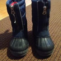 Lands End Snow Boots Boys Size 9 Photo