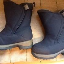 Lands End Toddler Snow Boots 7 Guc Photo