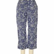 Lands' End Women Blue Dress Pants 10 Photo