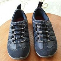 Lands End Women's Navy Blue Comfort Shoes/sneakers Size 9 B Excel Condition  Photo