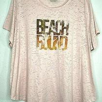 Lane Bryant 22/24 Plus Size Tunic Top Pink