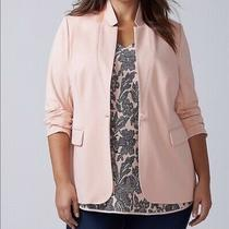 Lane Bryant Blush Pink the Bryant Blazer Size 24 Photo