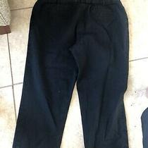 Lane Bryant Dress Pants Dark Blue Size 20 Photo