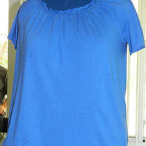 Lane Bryant Fun & Flirty Short Sleeved Shirt 14/16 Photo