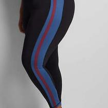 Lane Bryant Livi 7/8 Power Legging With Racing Stripe Plus Size 22/24 Nwt Photo