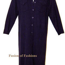 Lane Bryant Purple Acrylic Wool Long Cardigan Sweater 18 20 Photo