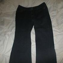 Lane Bryant Slim Bootcut Genuis Fit Blue Jeans 18 38 Inch Wide Photo