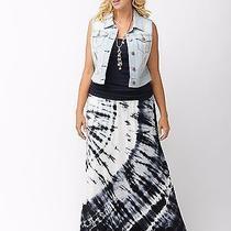 Lane Bryant Tie Dye Maxi Skirt Nwt Sz 14/16 Photo
