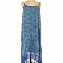 Lane Bryant Women Blue Casual Dress 14 Plus Photo