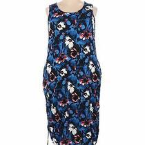 Lane Bryant Women Blue Casual Dress 18 Plus Photo