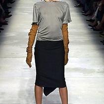 Lanvin 2004 Runway Statement Skirt Tie Ruffle Back 36 Us 2 Nwot Nycto Photo