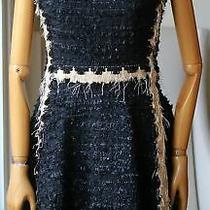 Lanvin 2015 Mini Dress Size M  Us8 Fr40 New 5690 Photo