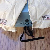 Lanvin Basket Basse Low-Top Sneakers Size 36 Womens Photo