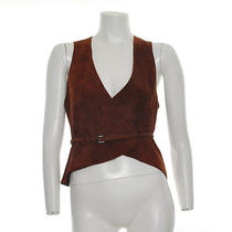 Lanvin Belted Vest  Us 6  Fr 38  It 42  Vault33 Photo