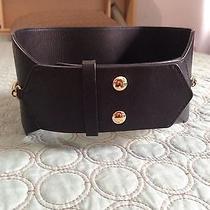 Lanvin Black Leather Belt Photo
