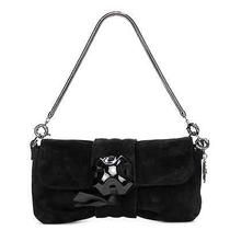 Lanvin Black Suede Oulala Clutch Handbag Photo