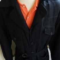 Lanvin Boutique Casual Black Mens High End Designer Patch Pocket Jacket Size 52 Photo