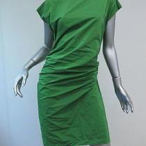 Lanvin Bow-Back Boatneck Dress Green Size 34 Gently Worn Photo
