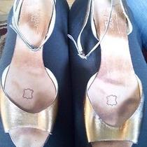 Lanvin Bronze Sandals Summer 2007 Size 39 Reduced Photo