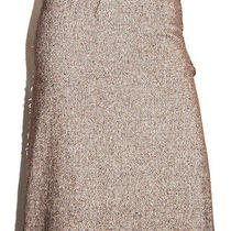 Lanvin Brown Cashmere Herringbone Tweed a-Line Skirt 38 Photo