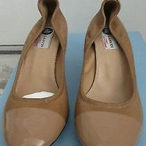 Lanvin Cap Toe Pumps 40.5 New in Box Photo