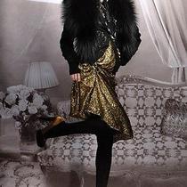 Lanvin Chenile Runway Floral Cardigan Sweater Top Large 8 10 Nwt Wool Alpaca Photo