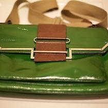Lanvin Clutch - Green and Brown Photo