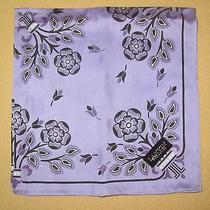 Lanvin Collection  Purple Scarf Handkerchief 50cm /fukujin Photo