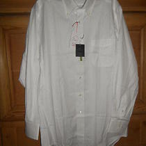 Lanvin Collection White Dress Shirt Size 41-84 Nwt Photo