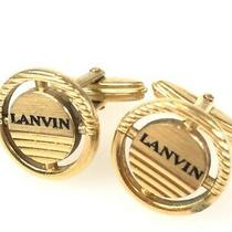 Lanvin Cuffs Gold Color Yma-210 (Mak485 Photo