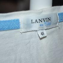 Lanvin en Blue Shirt Photo
