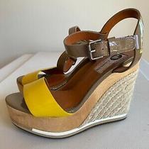 Lanvin Espadrille Wedge Heels Sandals Size 36 Photo