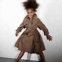 Lanvin Girl's Taffeta Raincoat Photo