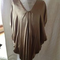 Lanvin Gold Silk Dress Photo