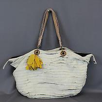 Lanvin Grosgrain Ivory Tote Handbag Tote Purse Photo