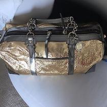 Lanvin Handbag Gold Metallic Photo
