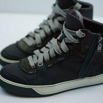 Lanvin High Top Sneakers Originally 795 Men's Us Size 8.5 Made in Italy Photo