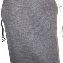 Lanvin Hiver 2011 Gray Wool Blend Knit Pencil Skirt 38 Photo