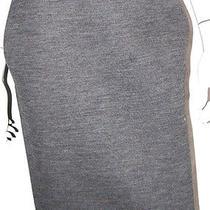 Lanvin Hiver 2011 Gray Wool Blend Knit Pencil Skirt 38 Photo
